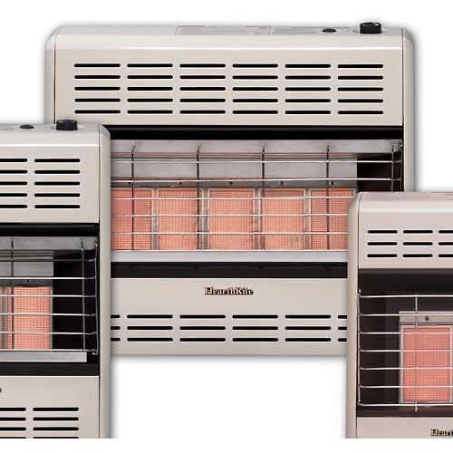 HeathRite Vent-Free Radiant Heater Natural Gas 30000 BTU, Manual Control