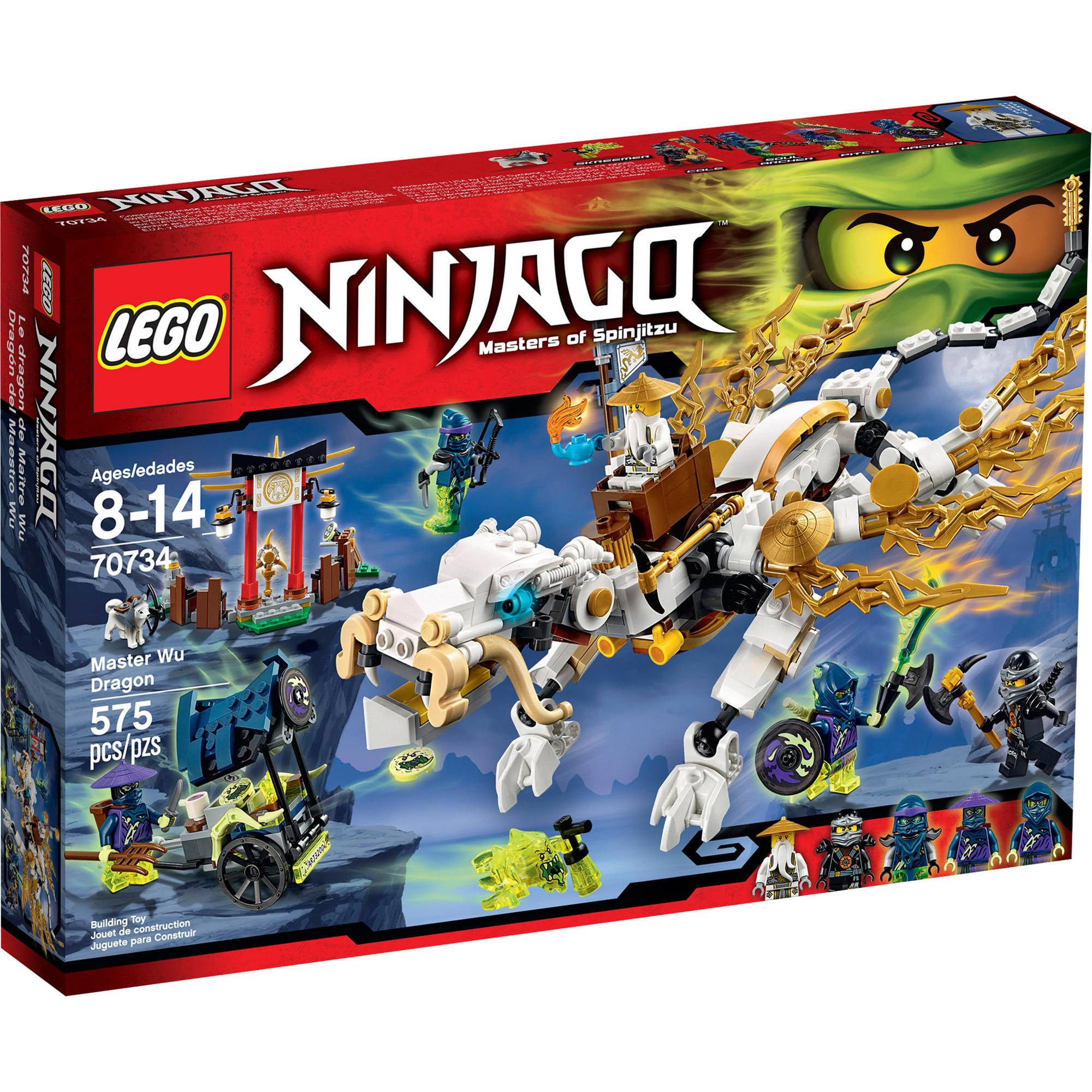 LEGO Ninjago Master Wu Dragon, 70734