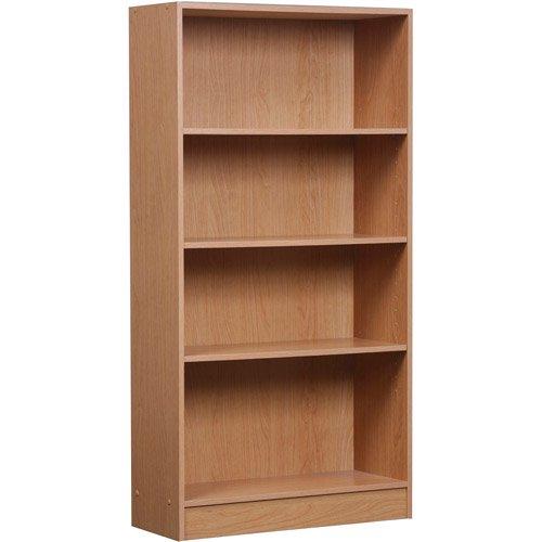 Orion 4-Shelf Bookcase Multiple Finishes