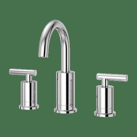 Pfister Contempra 2-Handle 8u0022 Widespread Bathroom Faucet in Polished Chrome