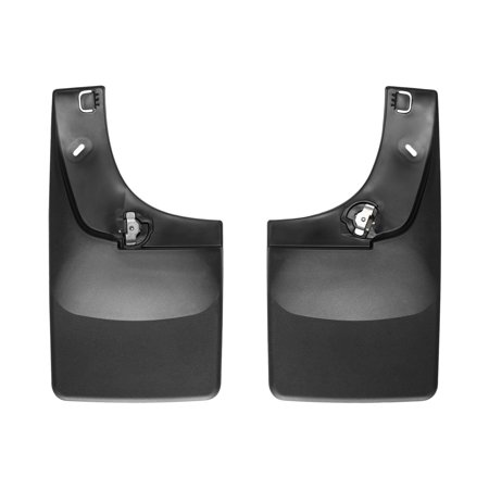 WeatherTech No Drill Mud Flap for Select Dodge Ram 1500/Ram 1500 Models (Weathertech Digitalfit No Drill Mud Flaps Reviews)