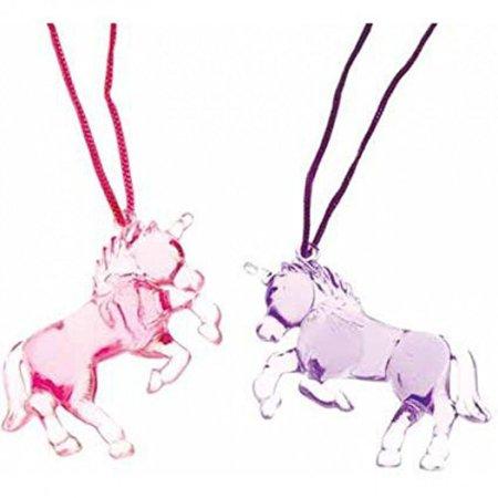 Unicorn Necklace 12 ct Necklaces (12 per - Unicorn Necklaces