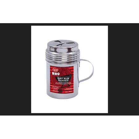Tablecraft Dry Rub Shaker w/Handle Stainless Steel Silver 10 oz. ()