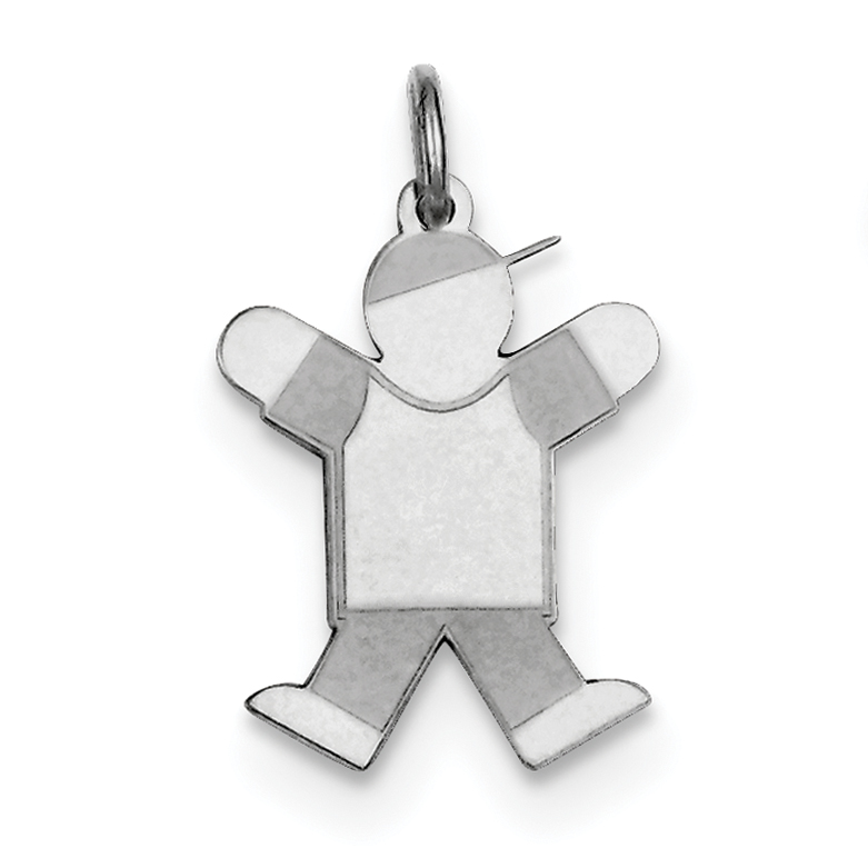 Roy Rose Jewelry Sterling Silver Kid Charm Pendant