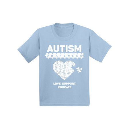 Awkward Styles Toddler Autism Awareness Shirt Kids Love Support Educate Autism Shirts Toddler Boy Autism Awareness Tshirt for Toddler Girl Autistic Pride Outfit Autism Puzzle Shirts for Kids - Optimus Prime Outfit