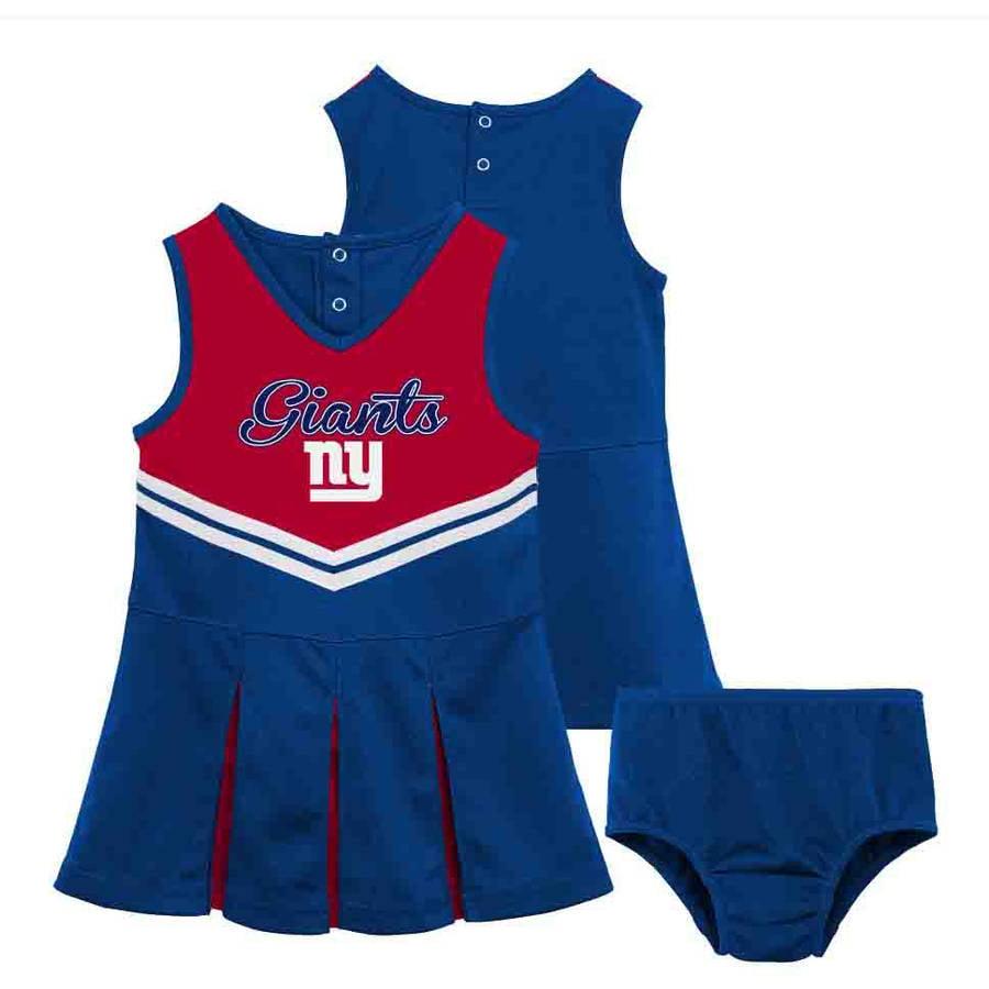 NFL New York Giants Girls Cheerleader Set