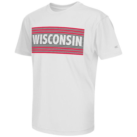 Youth NCAA Wisconsin Badgers Short Sleeve Tee Shirt (Team Color)