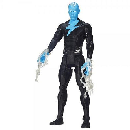 spider-man marvel ultimate titan hero series electro figure, - Spider Man Ultimate