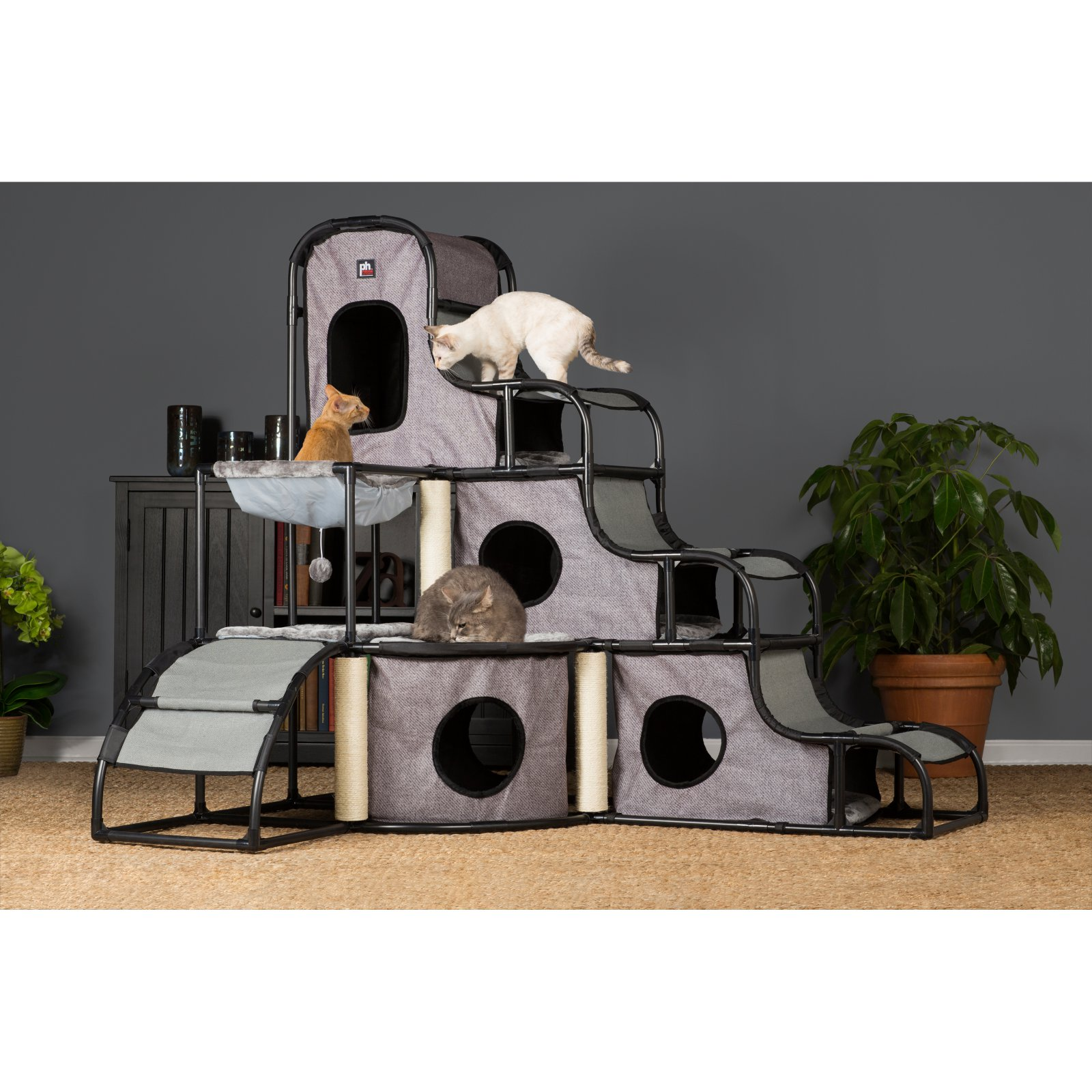 Prevue Pet Products Catville Tower, Grey