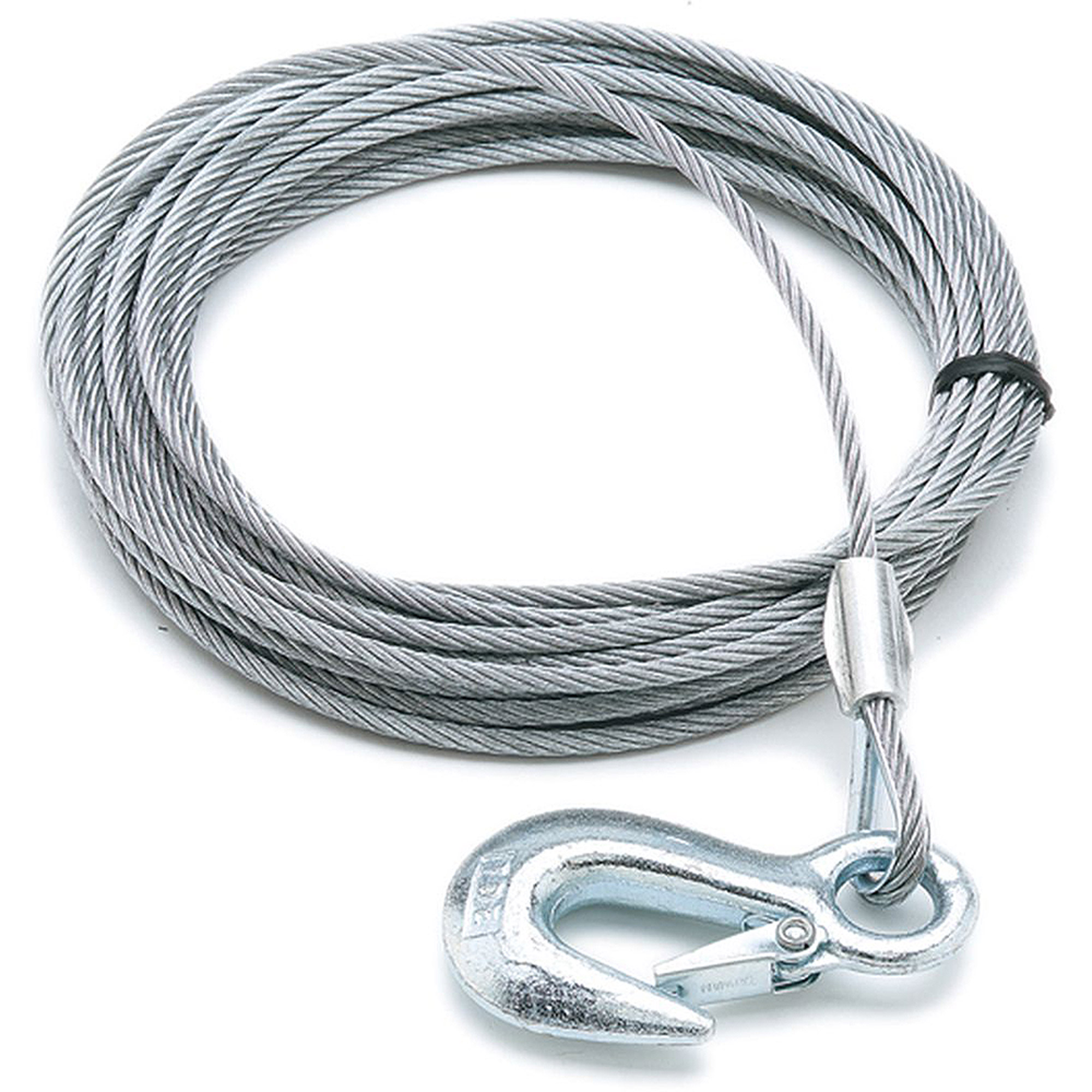 "SeaSense Trailer Winch Cable, 3 16"" x 25', 4000 lbs by Generic"