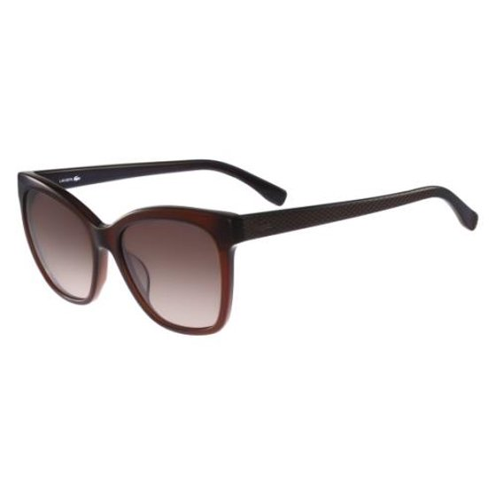 4b29eab5a1 Lacoste - LACOSTE Sunglasses L792S 210 Brown 56MM - Walmart.com