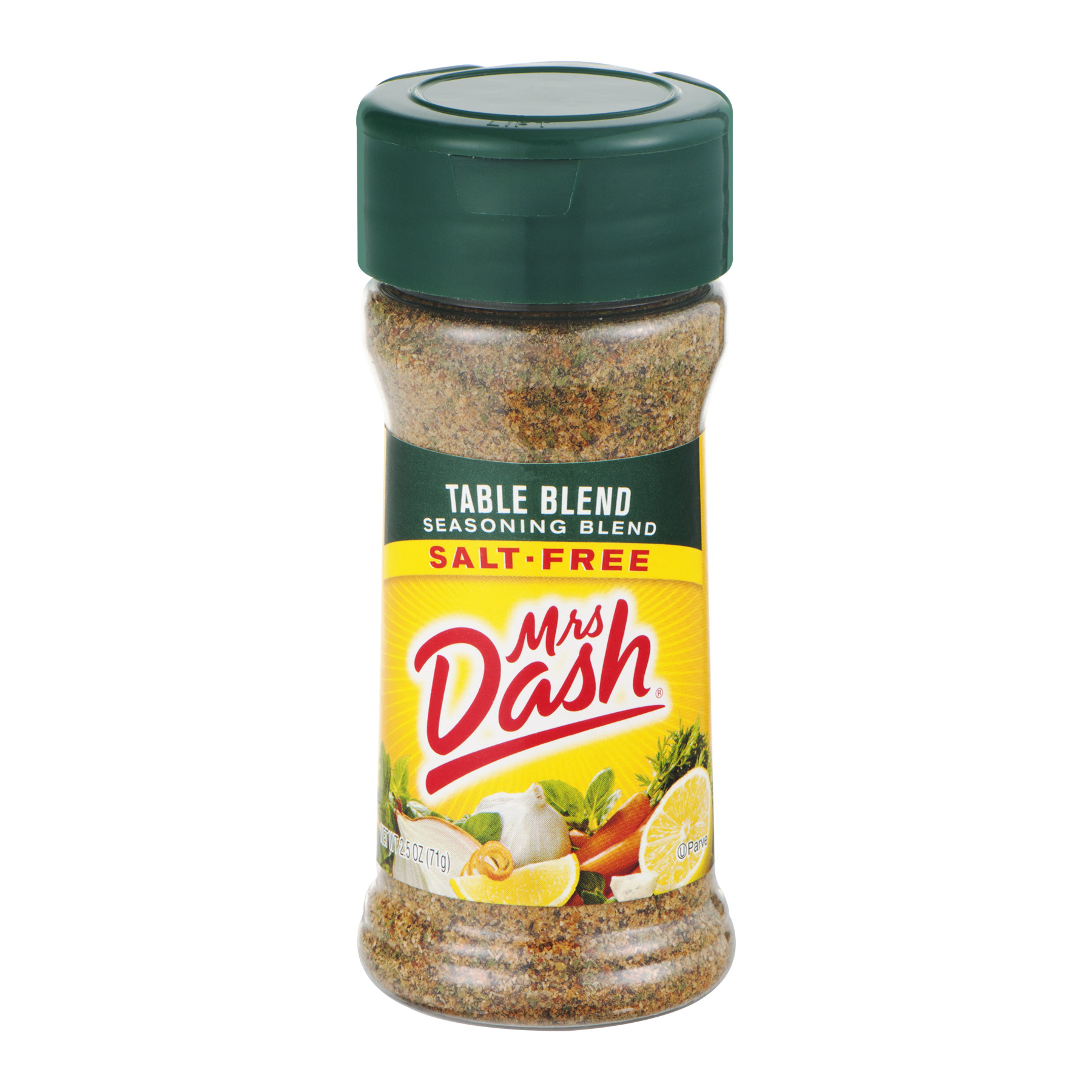 (3 Pack) Mrs. Dash Table Blend Salt-Free Seasoning Blend, 2.5 Oz