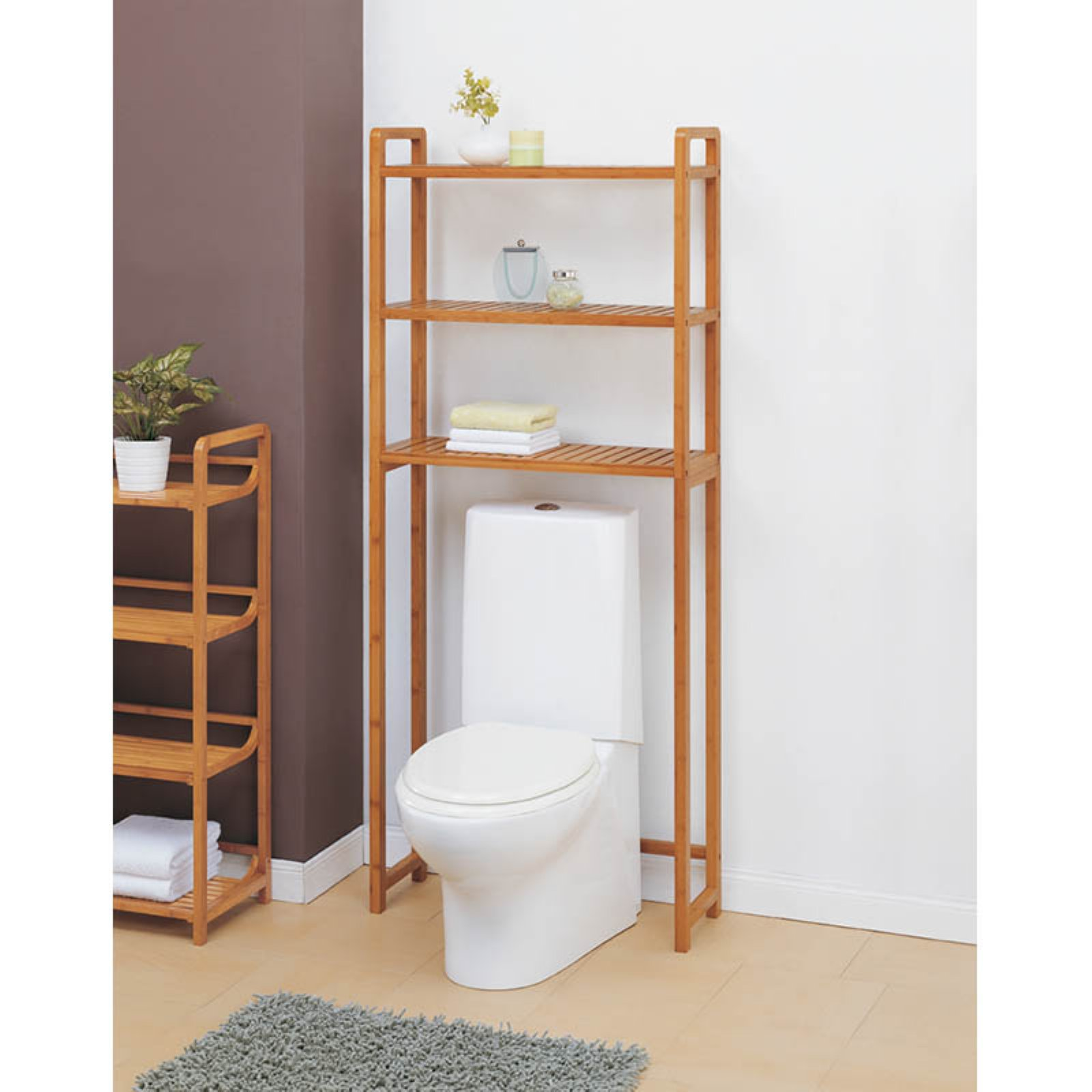 Organize It All Lohas 29941W-1 Bathroom Spacesaver