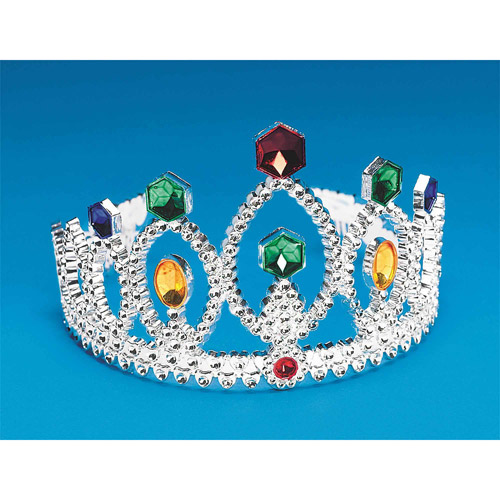 Silver Tiara, Pack of 12