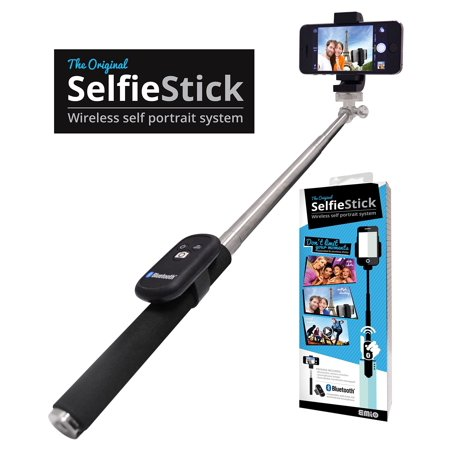 emio selfie stick bundle 0217 black. Black Bedroom Furniture Sets. Home Design Ideas