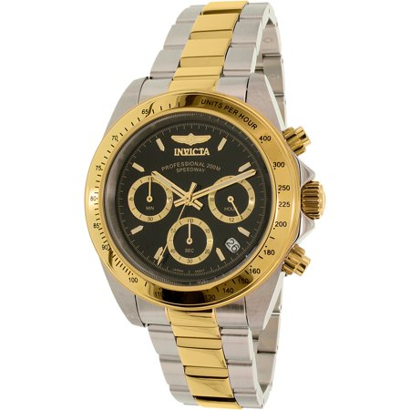 Mens 9224 Speedway S Series Two-Tone Stainless Steel Link Bracelet Watch