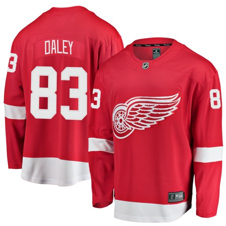 Trevor Daley Detroit Red Wings Fanatics Branded Youth Breakaway Player Jersey - (Detroit Red Wings Best Players)