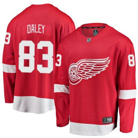 Trevor Daley Detroit Red Wings Fanatics Branded Youth Breakaway Player Jersey -