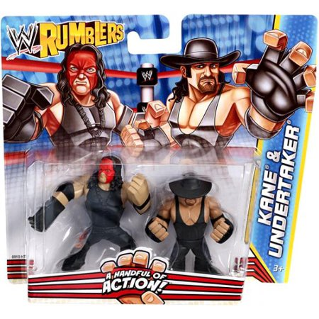 WWE Wrestling Rumblers Series 2 Kane & Undertaker Mini Figure 2-Pack (Kane Wwe)