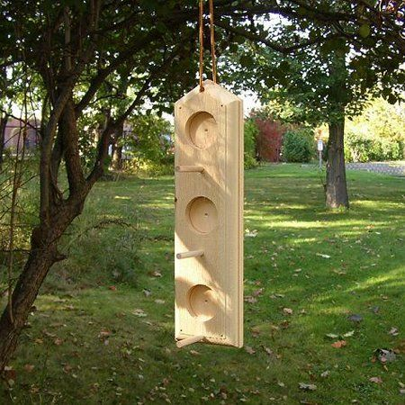 Coveside Conservation Peanut Butter Bird Feeder 6L 4W 14.25H