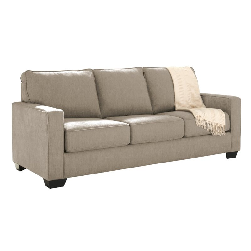 Ashley Zeb Queen Sleeper Sofa in Quartz Walmart