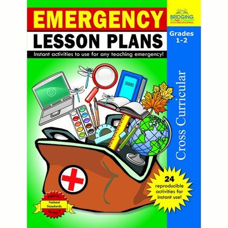 (3 Ea) Emergency Lesson Plans Gr 1-2