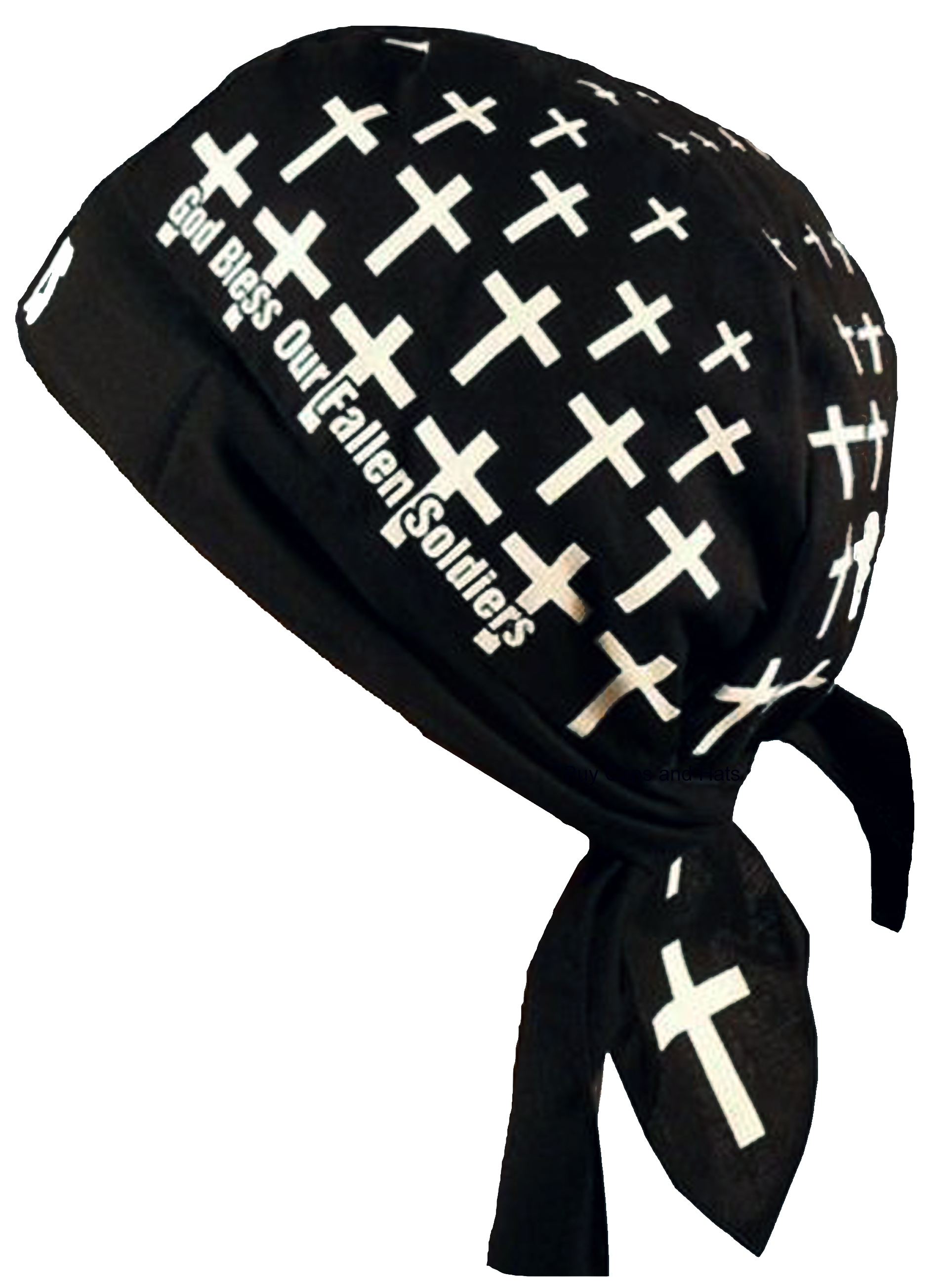Christian Doo Rag With Sweatband Motorcycle Skull Cap