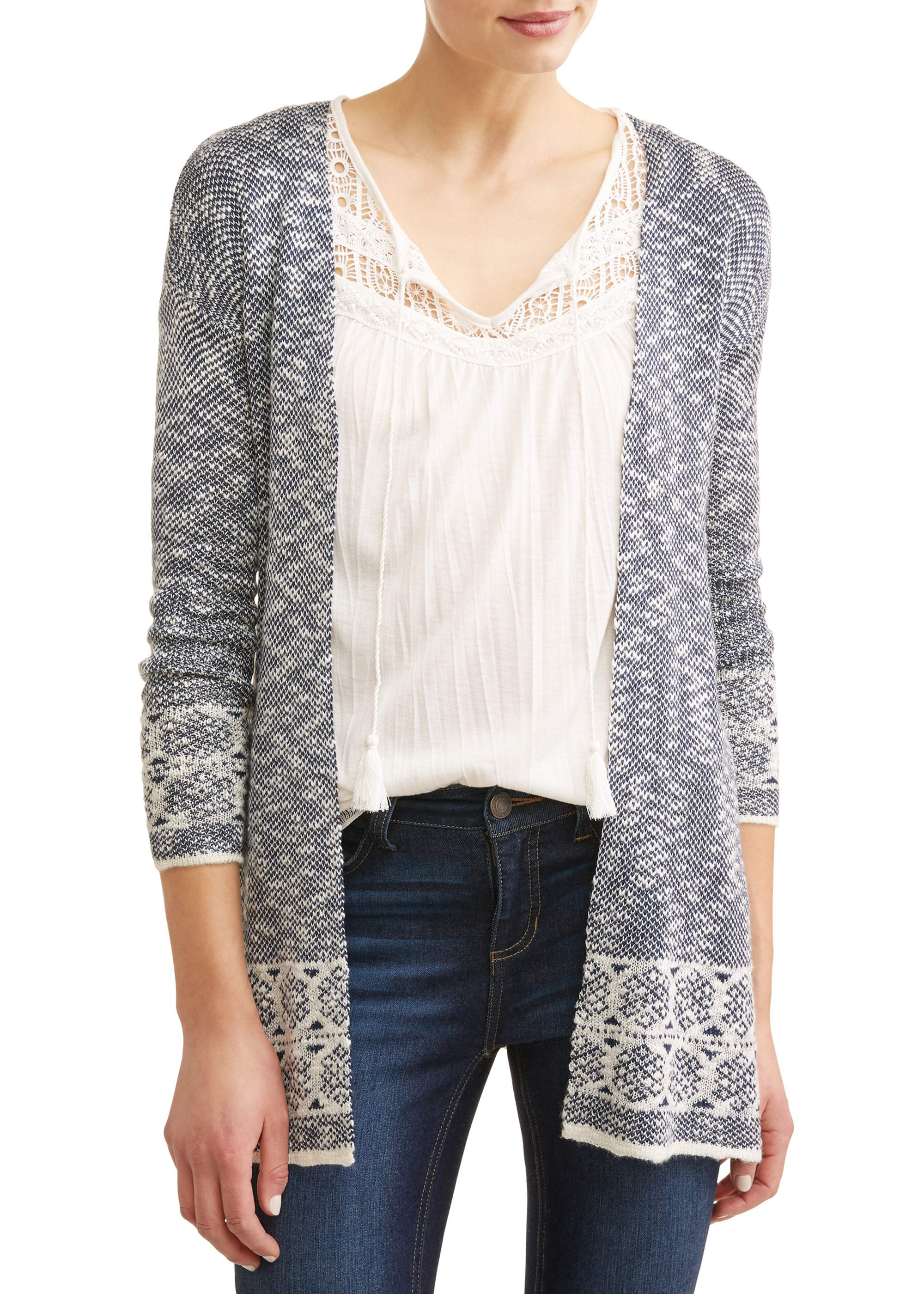 Women's Marled Duster Cardigan
