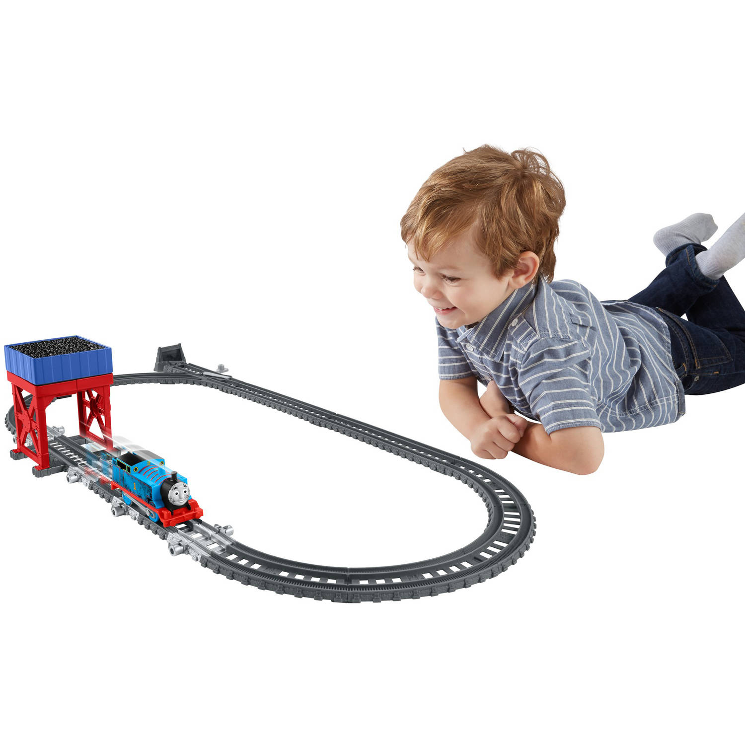 Thomas & Friends TrackMaster 2-in-1 Destination Set by FISHER PRICE