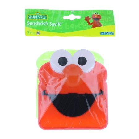 Lot of 2 Sandwich Sav'R Sesame Street Elmo Evriholder BPA Free Saver