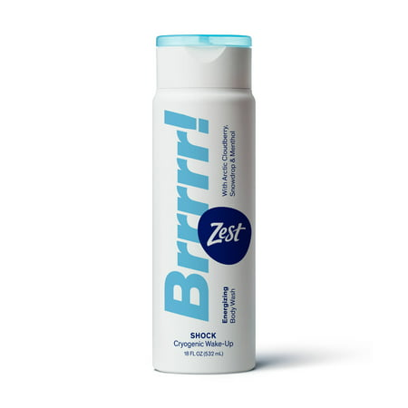 Zest Brrrrr! SHOCK BODY WASH 18OZ