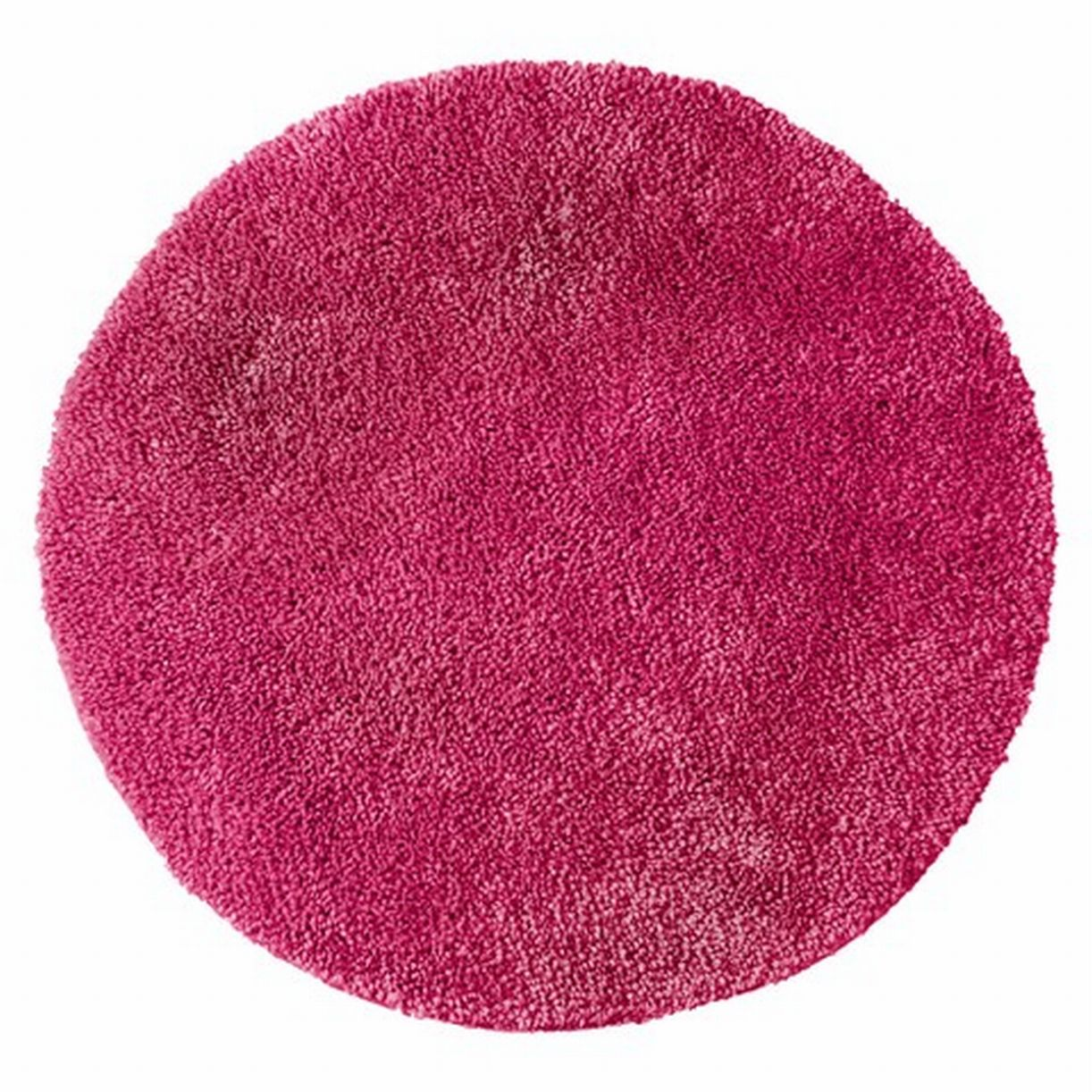 Room Essentials Dashing Pink Skid Resistant Throw Bath Rug Accent Mat 24 Round