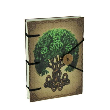 Brigid Ashwood Tree of Life Hard Cover Journal (Tree Of Life Journal Lock)