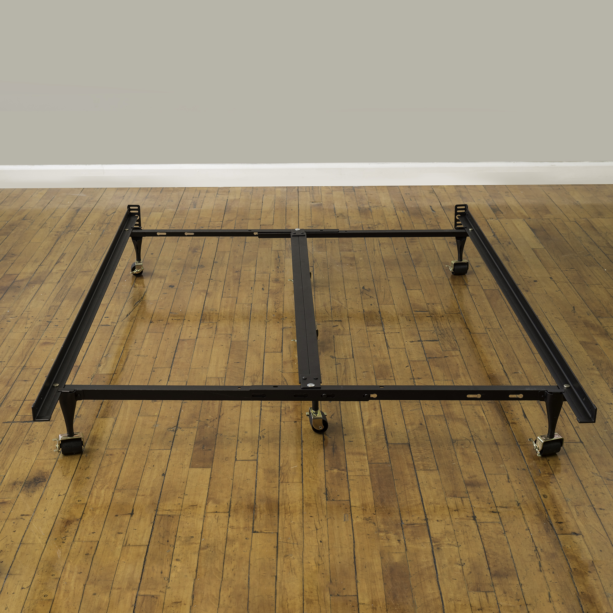 "Modern Sleep Universal 7"" Low Profile Adjustable Metal Bed Frame, Easy Assembly, Multiple Sizes"