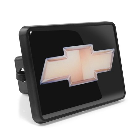 Chevrolet Golden Bowtie ABS Plastic 2 Plug Tow Hitch Cover Chevrolet Silverado Hitch Covers