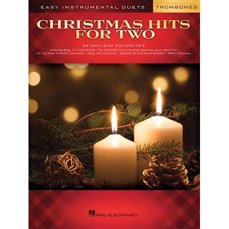 Christmas Hits for Two Trombones: Instrumental Duet for Trombone (Paperback) ()