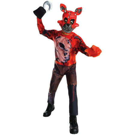 Five Nights at Freddys: Nightmare Foxy Child Costume](Nightmare Costume)