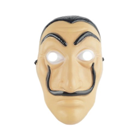 Face Mask La Casa De Papel Mask Salvador Dali Mascara Masque Money Heist Cosplay Props Toy - Mascara Mask