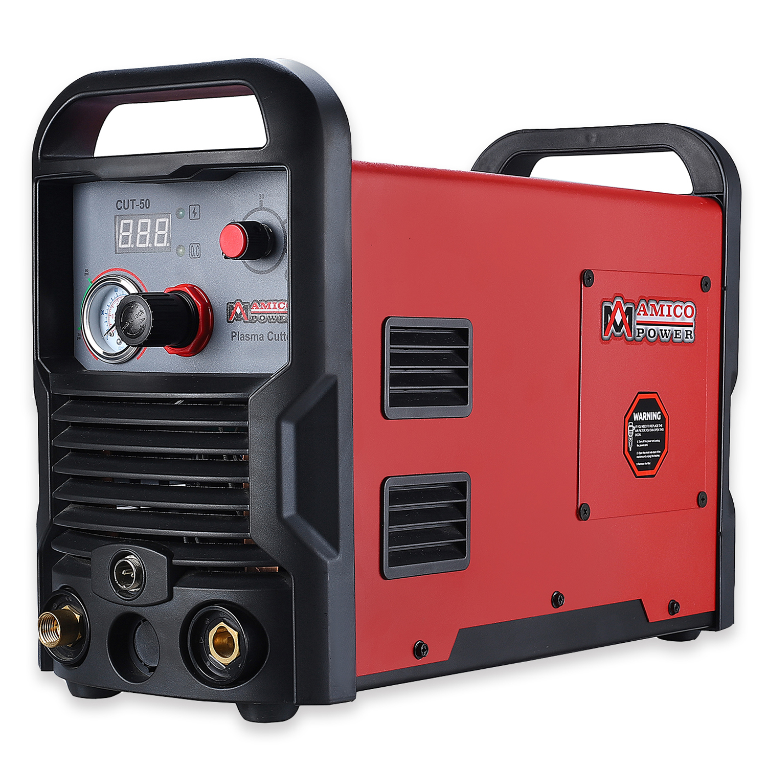 "Amico CUT-50, 50 Amp Air Plasma Cutter, 3/4"" Clean Cut, 100-240V Cutting Machine"