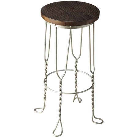 Cool Butler Post Industrial Iron And Reclaimed Wood Bar Stool Ocoug Best Dining Table And Chair Ideas Images Ocougorg