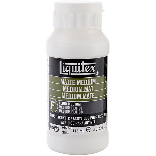 Liquitex Matte Acrylic Fluid Medium-4oz
