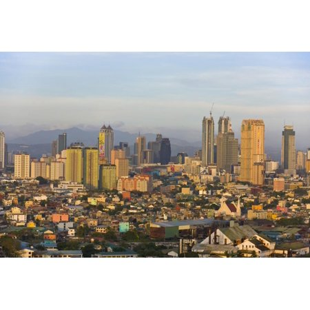 Skyline Along Manila Bay, Manila, Philippines Print Wall Art By Keren