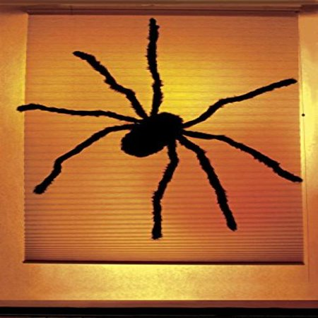 WOWindow Posters Black Widow Spider Halloween Window Decoration 34.5