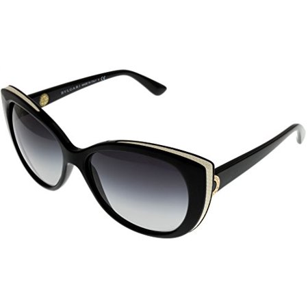 Bvlgari Sunglasses Cat eye Women Black BV8169Q 901/8G Size: Lens/ Bridge/ Temple: 57_15_135
