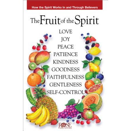 Fruit of the Spirit Pamphlet : How the Spirit Works in and Through - Fruits Of The Spirit Craft