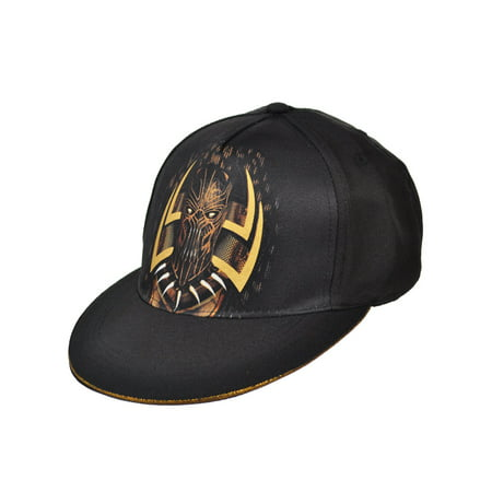 155dc46ac Marvel Black Panther Snapback Cap (Youth One Size)