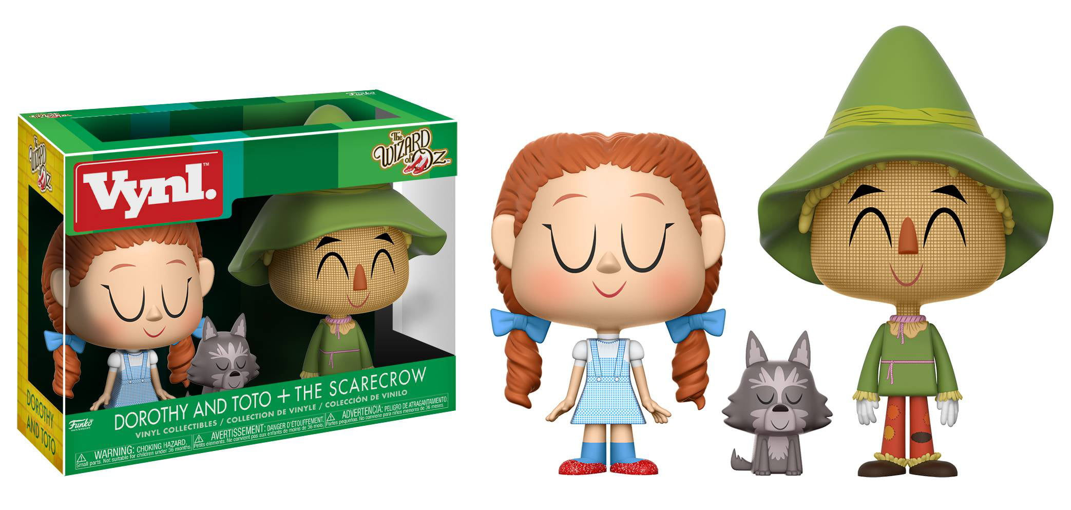 FUNKO VYNL.: Wizard Of Oz Dorothy and Scarecrow by Funko