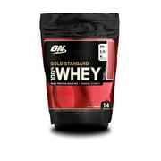 Optimum Nutrition Gold Standard 100% Whey Protein Powder, Strawberry, 24g Protein, 1 Lb