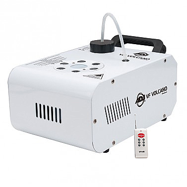 American DJ Vf Volcano 750W Pro Vertical Fog Machine W  6X3-Watt Leds Closeout Factory... by