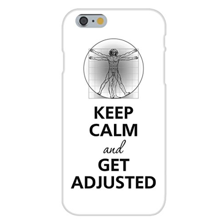 High Power Da Snap - Apple iPhone 6+ (Plus) Custom Case White Plastic Snap On - Keep Calm and Get Adjusted DaVinci